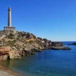 Fotos del Mar Menor en Murcia, el Cabo de Palos
