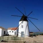 Fotos del Mar Menor en Murcia, molinos salineros