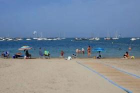 Fotos del Mar Menor en Murcia, playa Los Alcazares