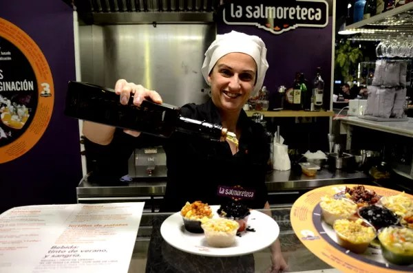 Fotos del Mercado Victoria de Córdoba, La Salmoreteca