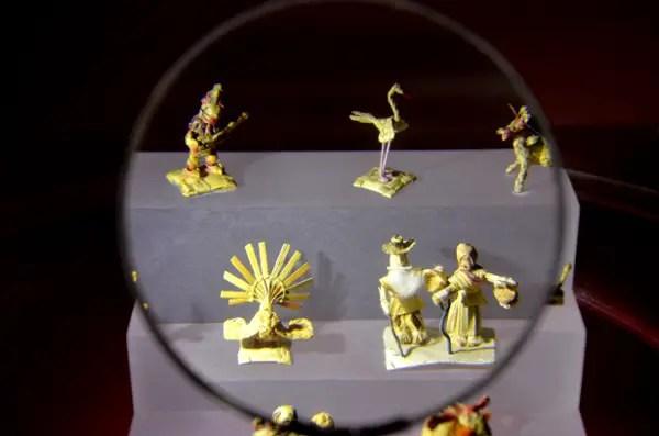 Fotos del Museo de Miniaturas de Besalu, figuritas