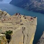 Fotos del Púlpito en los Fiordos Noruegos, Preikestolen