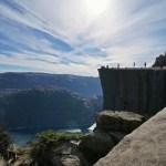 Fotos del Púlpito en los Fiordos Noruegos, lateral