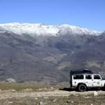 Fotos del Valle del Jerte en Caceres. 4x4 y cumbres nevadas Garganta de los Infiernos