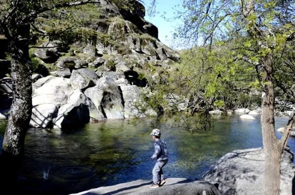 Fotos del Valle del Jerte en Caceres. Teo en Los Pilones