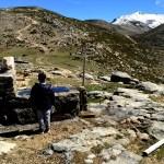 Fotos del Valle del Jerte en Caceres. Teo en la Garganta de los Infiernos