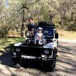Fotos del Valle del Jerte en Caceres. Teo y Oriol en Los Pilones