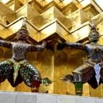Fotos del Wat Phra Kaew y el Gran Palacio de Bangkok, estatuas y oro