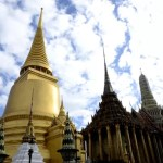 Fotos del Wat Phra Kaew y el Gran Palacio de Bangkok, estupas