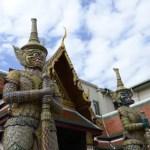 Fotos del Wat Phra Kaew y el Gran Palacio de Bangkok, yaksha