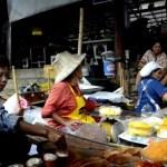 Fotos del mercado flotante de Damnoen Saduak, caos