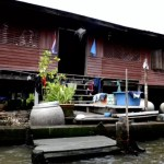 Fotos del mercado flotante de Damnoen Saduak, casa