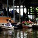 Fotos del mercado flotante de Damnoen Saduak, flores