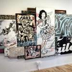 Fotos del museo MIMA de Bruselas, obra de Faile