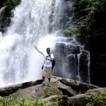 Fotos del viaje a Tailandia con niños, Pau cascada Doi Inthanon