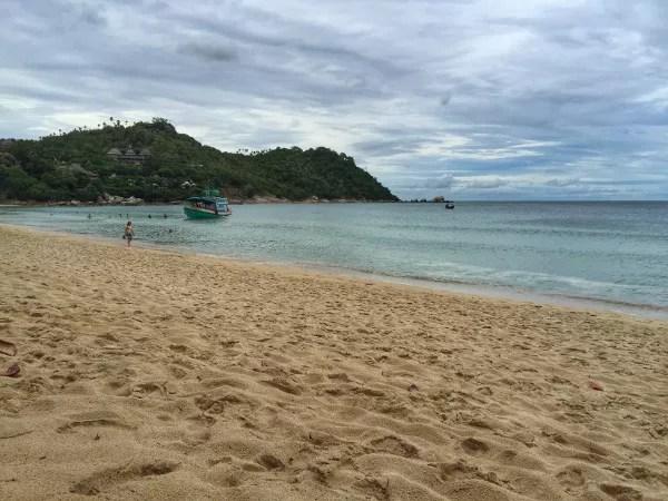 Fotos del viaje a Tailandia con niños, playas de Koh Phangan
