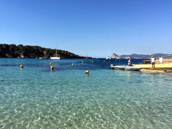 Fotos viaje a Ibiza con Balearia, Cala Bassa