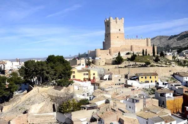 Fotos Fiestas del Medievo de Villena, castillo de la Atalaya