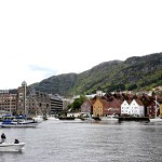 Fotos de Bergen en los Fiordos Noruegos, Bryggen