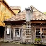 Fotos de Bergen en los Fiordos Noruegos, casa en Bryggen