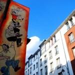 Fotos de Bruselas, Ruta del Cómic