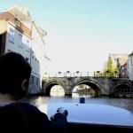 Fotos de Malinas, Teo en el paseo en barco
