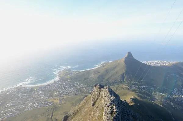 Fotos de Table Mountain en Ciudad del Cabo, desde arriba