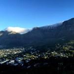 Fotos de Table Mountain en Ciudad del Cabo, nublado