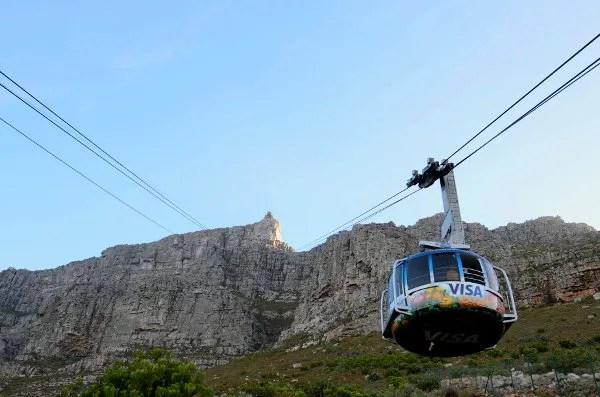 Fotos de Table Mountain en Ciudad del Cabo, teleférico