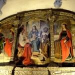Fotos de Wamba en Valladolid, interior de la iglesia Santa Maria, pinturas