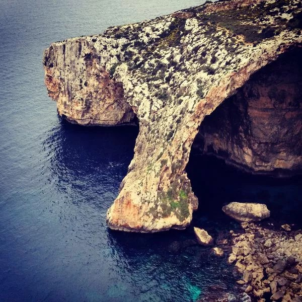 Gruta Azul, Malta