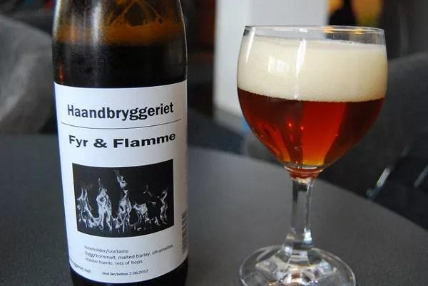 Haandbryggeriet Fyr og Flamme, la cerveza de 15 euros