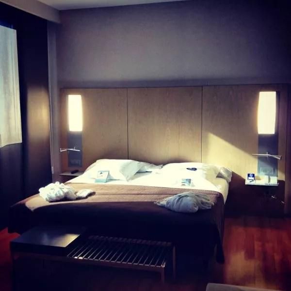 Habitación del hotel Barceló Valencia