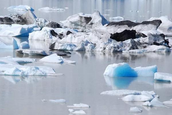 Icebergs de Fjallsárlón