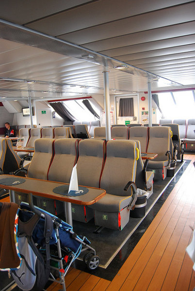 Interior del Flaggruten Express