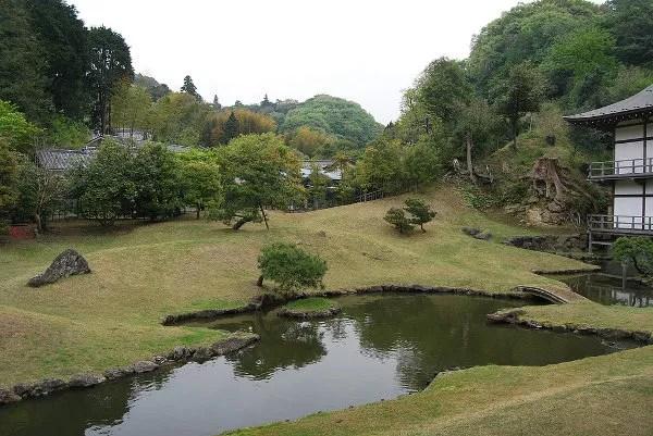 Jardín del templo Kencho-ji de Kamakura