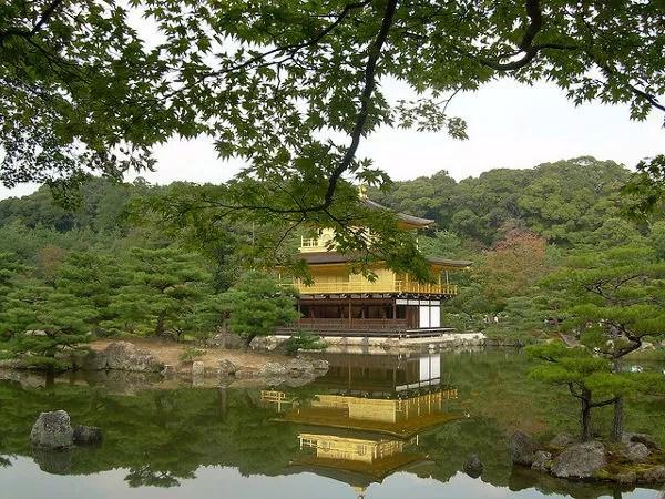 Kinkaku-ji en Kioto