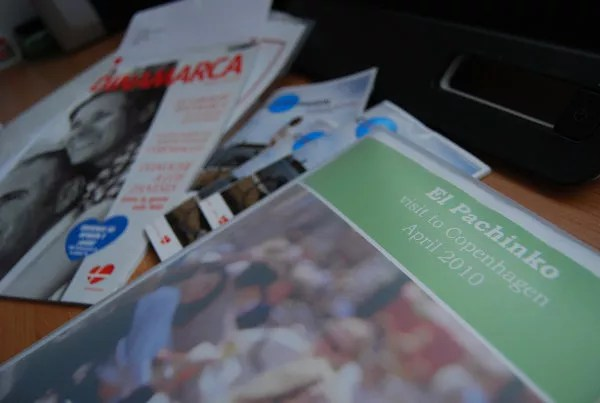 Kit de VisitDenmark para el pachinko