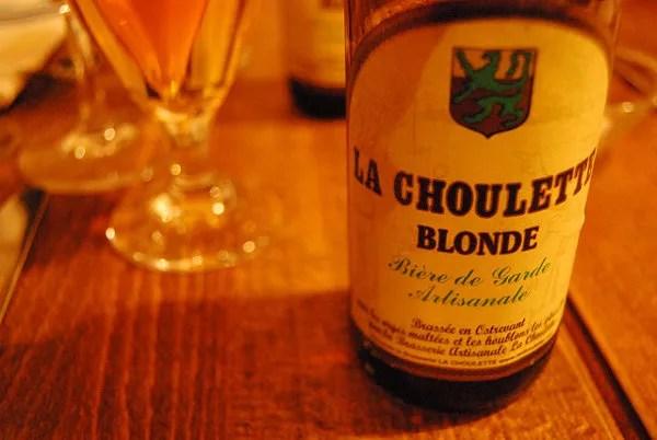 La Choulette Blonde, cerveza francesa