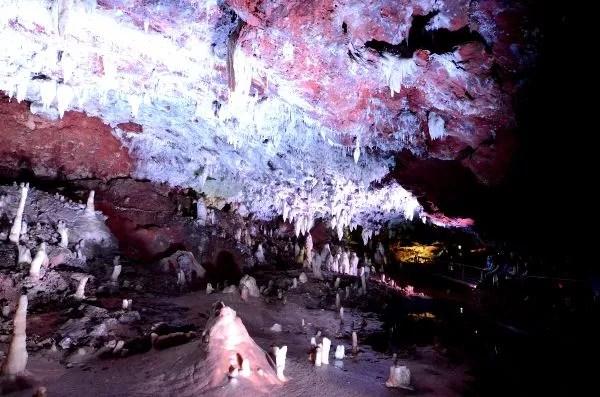 La Cueva del Soplao en Cantabria