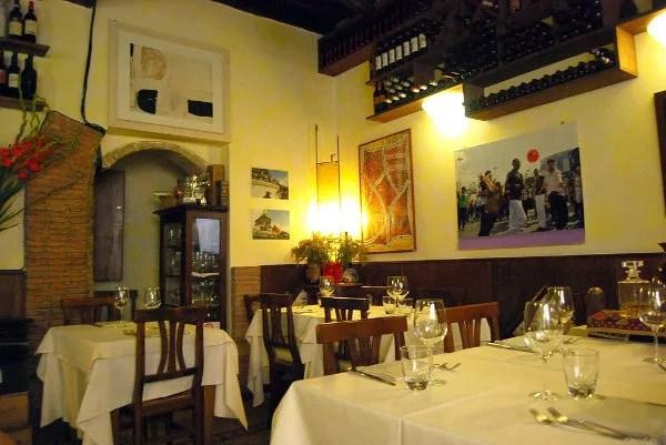 La Gensola, para comer bien en el Trastevere de Roma
