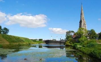 La Iglesia de San Albano en Copenhague