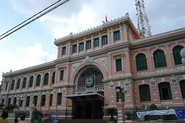 La Oficina Central de Correos de Saigón