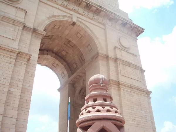 La Puerta de la India en Nueva Delhi