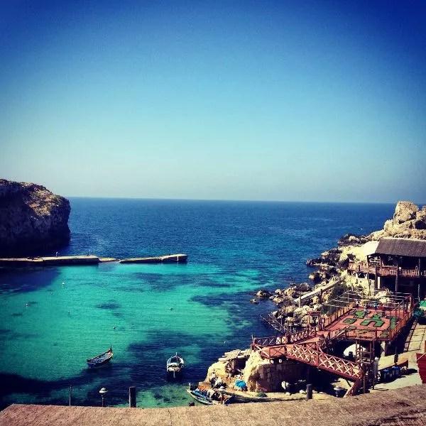 La aldea de Popeye en Malta