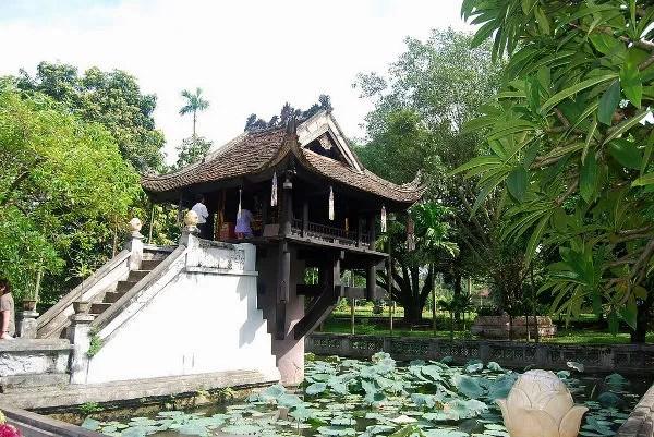 La pagoda de un solo pilar de Hanoi
