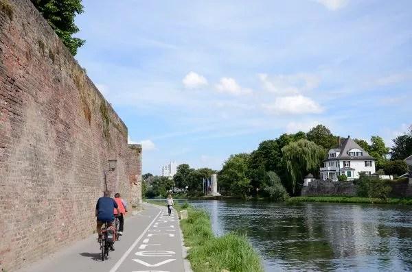 La ribera del Danubio en Ulm