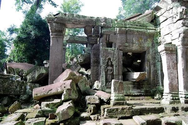 Las ruinas de Ta Prohm