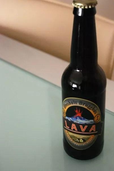 Lava, cerveza negra islandesa