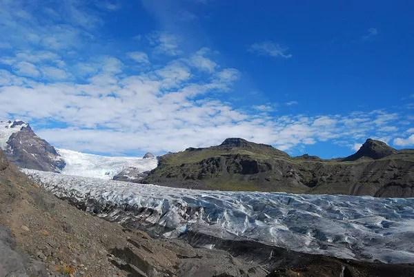 Lengua glaciar Svínafellsjökull